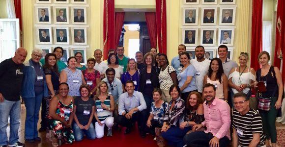 Participantes da FIMTUR visitam a Prefeitura