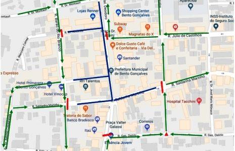 Trânsito será alterado para Festival Via Del Vino