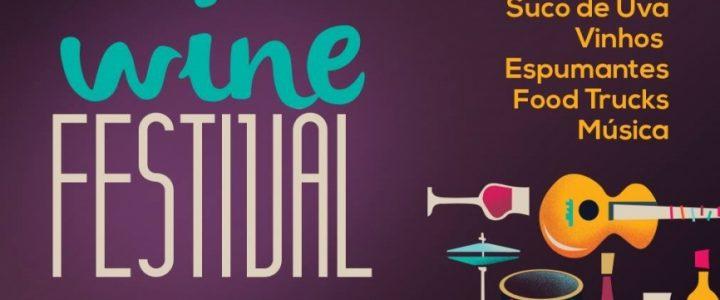 Wine Festival reúne vinho e diversão em Bento