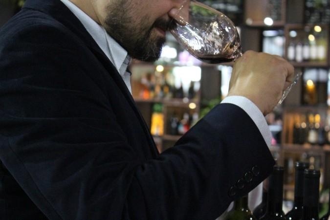 avaliação de vinhos