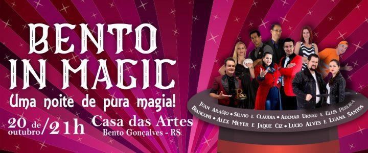 Casa das Artes sedia espetáculo de ilusionismo