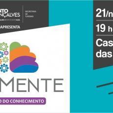 1° Movimente – Congresso do Conhecimento reúne três palestras no dia 21