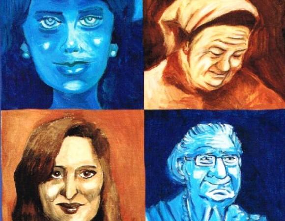 faces da mulher