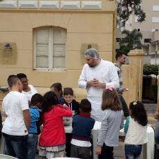 Doce Páscoa encerra com Oficina Infantil na Via Del Vino