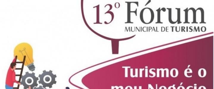 13º Fórum Municipal de Turismo