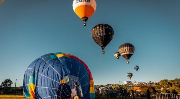 Festival de Balonismo acontece de 23 a 26 de setembro em Bento